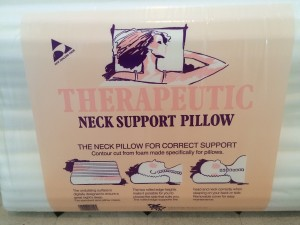 Therapeutic Neck Support Pillow
